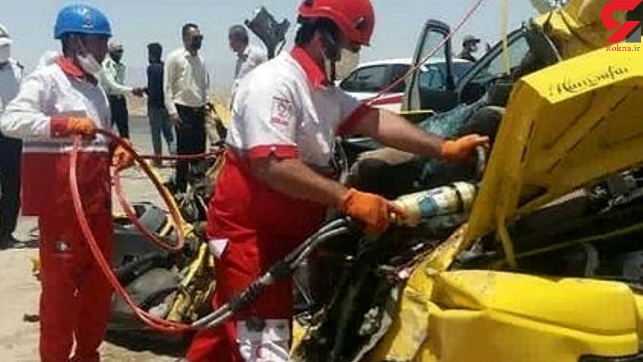 سانحه رانندگی در محور جیرفت - بم یک فوتی برجا گذاشت