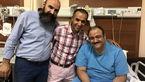 مهران غفوریان در بیمارستان بستری شد + عکس