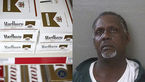 سرقت سیگار 600 دلاری از فروشگاه+عکس
