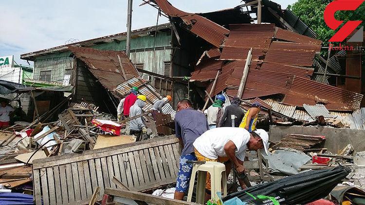 یازده نفر بر اثر وقوع زلزله در فیلیپین جان باختند - 1