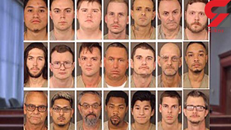 دستگیری بیش از ۱۰۰ نفر از اعضای یک باند قاچاق انسان+ عکس