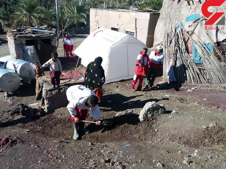 امدادرسانی به هزاران  آسیب دیده از سیل سیستان وبلوچستان