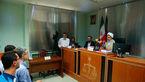 انتشار  اولین عکس از دادگاه علنی اسفندیار رحیم مشایی