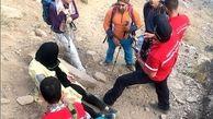 زن جوان گمشده در ارتفاعات شمیرانات بد حال پیدا شد + عکس