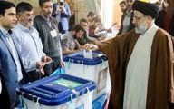 حضور چهره های سیاسی پای صندوقهای رأی + تصاویر و فیلم