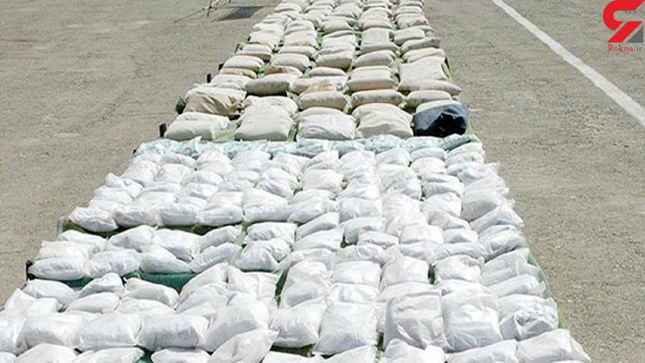 کشف بیش از یک تن انواع مواد مخدر در یزد