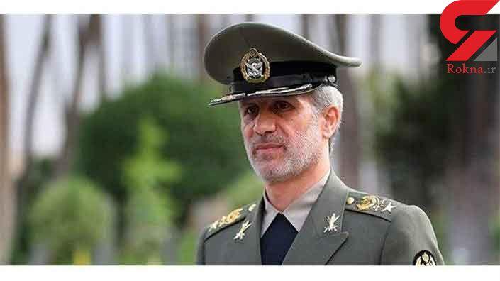 پیام نوروزی وزیر دفاع به همتایان خود در کشورهای منطقه