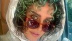 موهای فرفری و سبزرنگ الناز شاکردوست + عکس