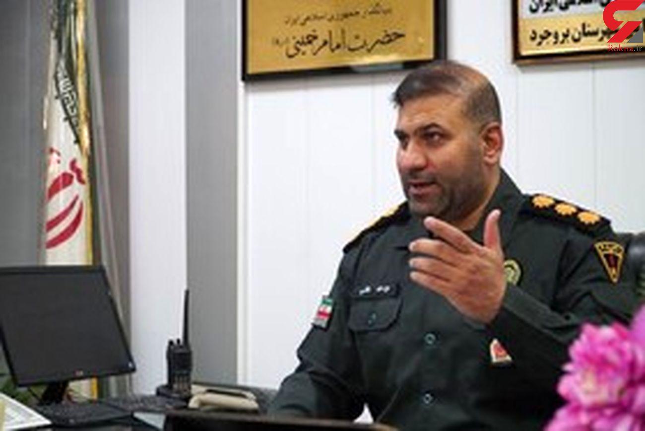 دستگیری ۱۴ سارق در بروجرد