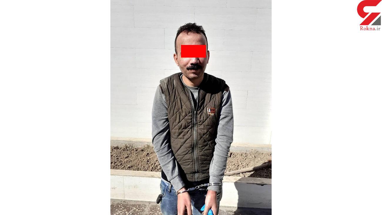 بازداشت سارق حرفه ای آبادان / پلاک مخدوش پراید کار دستش داد