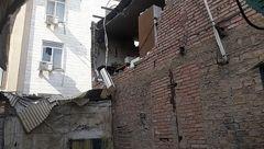 تخریب کارگاه خیاطی بر اثر انفجار گاز/ ۲ مرد سوختند + تصاویر