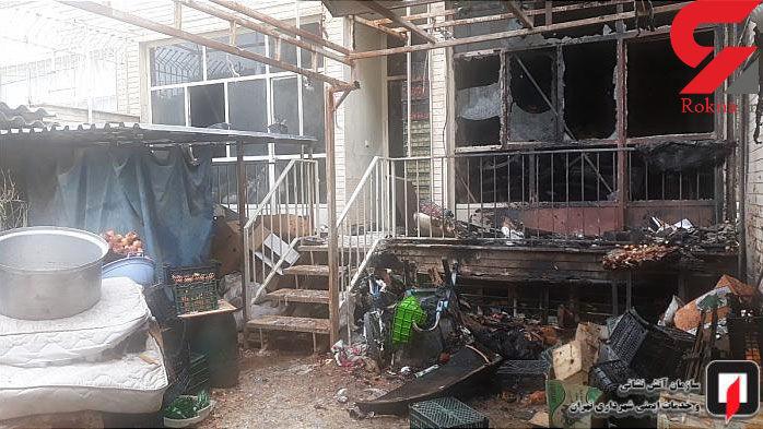 وحشت اهالی تهرانسر به دلیل حادثه تلخی که برای همسایه شان رخ داد+ تصاویر