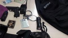 دستگیری سارق در تهران که جلیقه نظامی به تن داشت