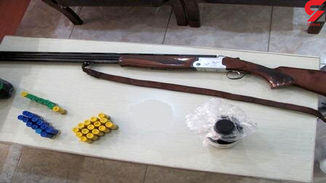 کشف 17 قبضه سلاح شکاری غیرمجاز در لردگان