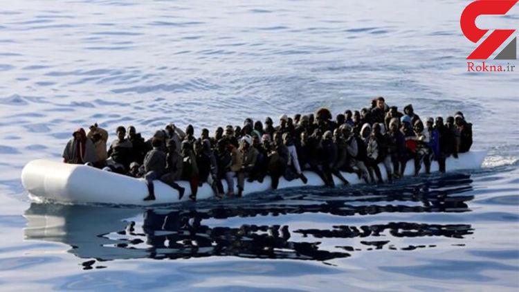 ۷۰ کشته در پی غرق شدن قایق پناهجویان در سواحل تونس