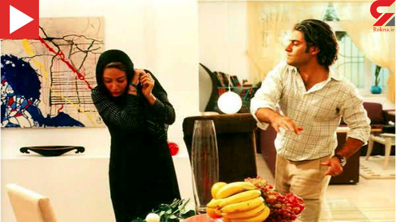 عکس سیلی محکم محمدرضا گلزار به مهناز افشار در خانه لاکچری