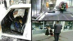 حمله وحشیانه به 2 روحانی با قمه در قم + عکس