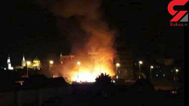 آتشسوزی در نجف با 21 کشته و زخمی