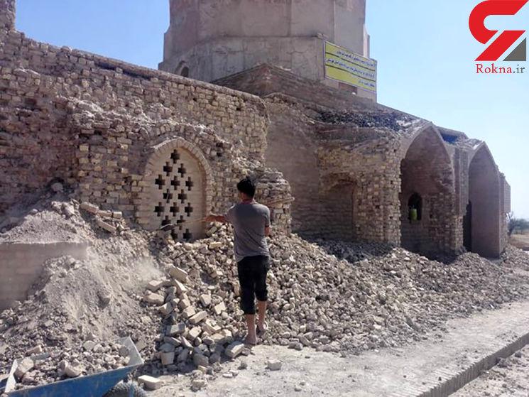 دیوار آرامگاه «یعقوب لیث» خراب شد / چه کسی پاسخگوست؟
