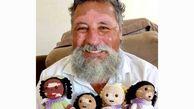 عروسک هایی که به صاحب مریضشان شباهت دارند!+عکس