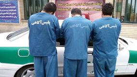 دستگیری زورگیران مسافرکش نما در تهران / آنها با پژو 405 زورگیری می کردند