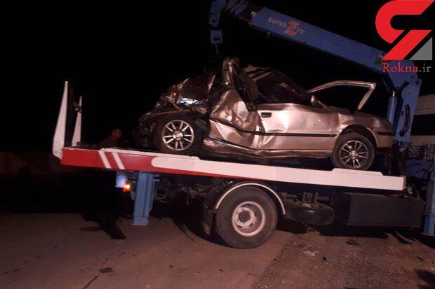 5 کشته در تصادفات مرگبار جاده های سمنان