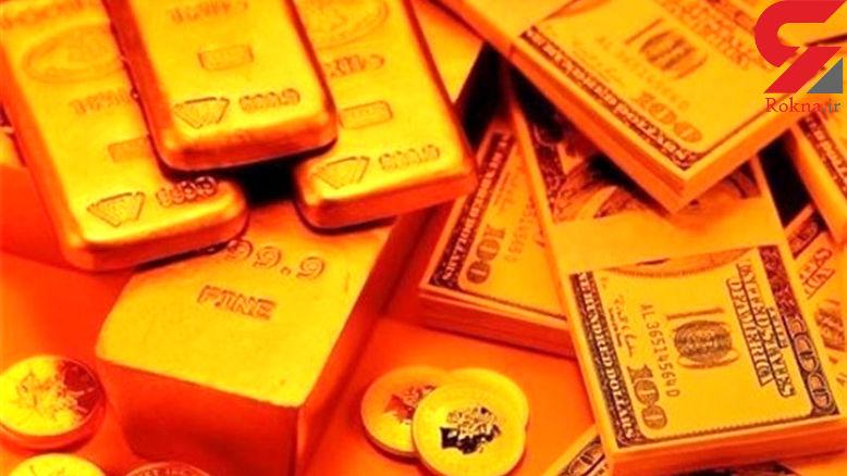 قیمت جهانی طلا امروز 12 آذر 97