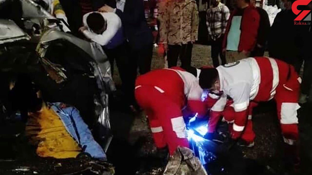 تصادف مرگبار در آستارا / یک کشته و 3 زخمی