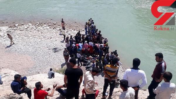 غرق شدگی یک جوان در رودخانه بشار