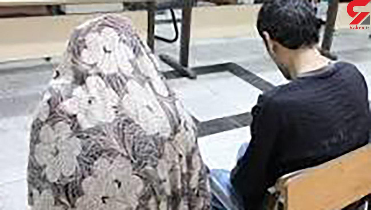 اقدام پلید زوج کرجی در مغازه مرغ فروشی