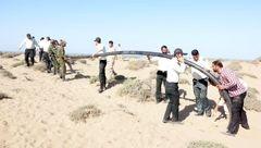 10 کیلومتر لوله انتقال سوخت قاچاق در سواحل ایران پیدا شد !+عکس