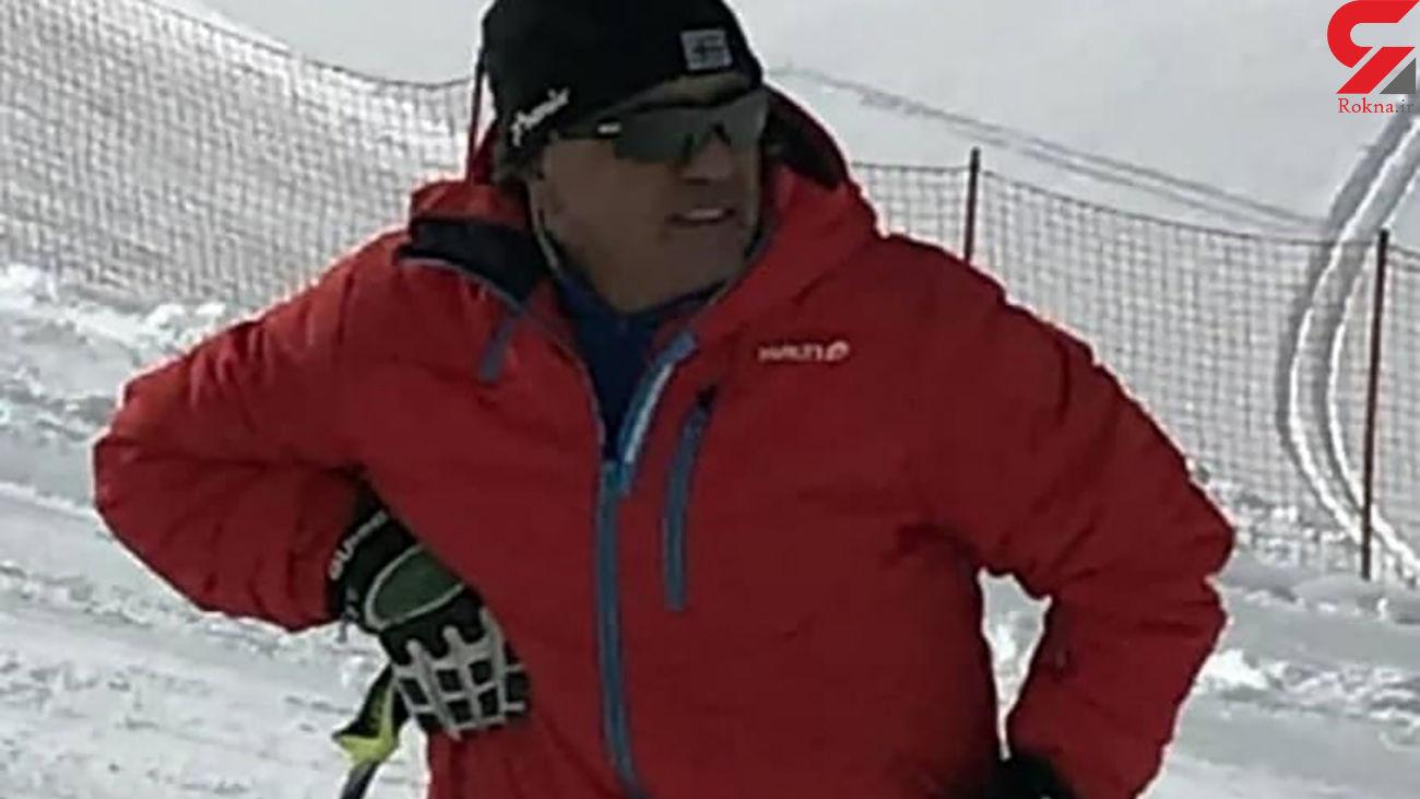 قهرمان اسکی ایران بر اثر کرونا درگذشت + عکس