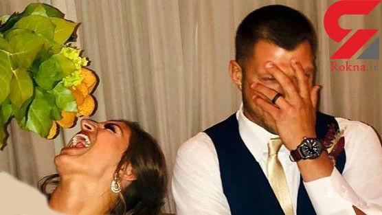 دسته گل جالب عروس جوان سوژه جدید رسانه ها+عکس
