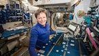 با سابقه ترین و رکورد دار فضانورد زن ناسا با فضا خداحافظی کرد