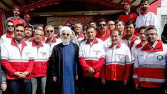 سلفی مسافران نوروزی با دکتر روحانی در چیتگر تهران + فیلم و عکس