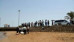 جسد زن 37 ساله  در ساحل بوشهر کشف شد + عکس