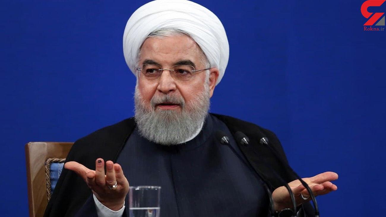 روحانی : به جای گوشت  و مرغ از آبزیان بخورید / گرانی ها حل شدند!!