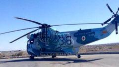 فرود اضطراری یک فروند هلیکوپتر در رفسنجان
