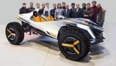 هیوندا خودروی بدون سقف خاک و آبی می سازد