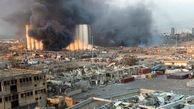 انتقال مواد شیمیایی از انبارهای بندر بیروت
