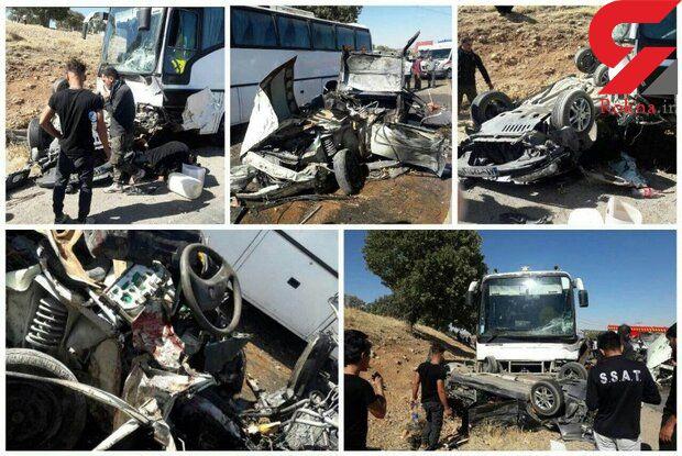 این عکس ها همه را شوکه می کند / پل سیمره قتلگاه مسافران + جزییات