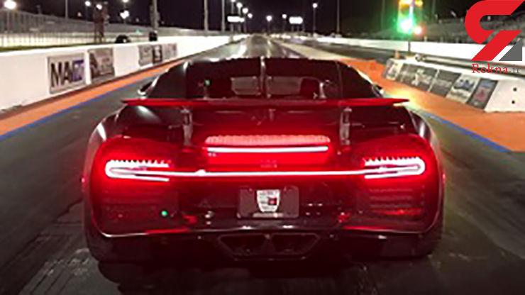 خودرویی که بیش از نیم کیلومتر را در کمتر از ۱۰ ثانیه طی میکند