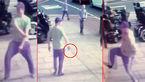 حمله مرد دیوانه با ساطور به فروشگاه ایوب /  پلیس شش ساعت بعد به محل حادثه رسید + عکس