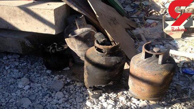 منفجر شدن سیلندر گاز در شیراز منجر به فوت یک نفر شد