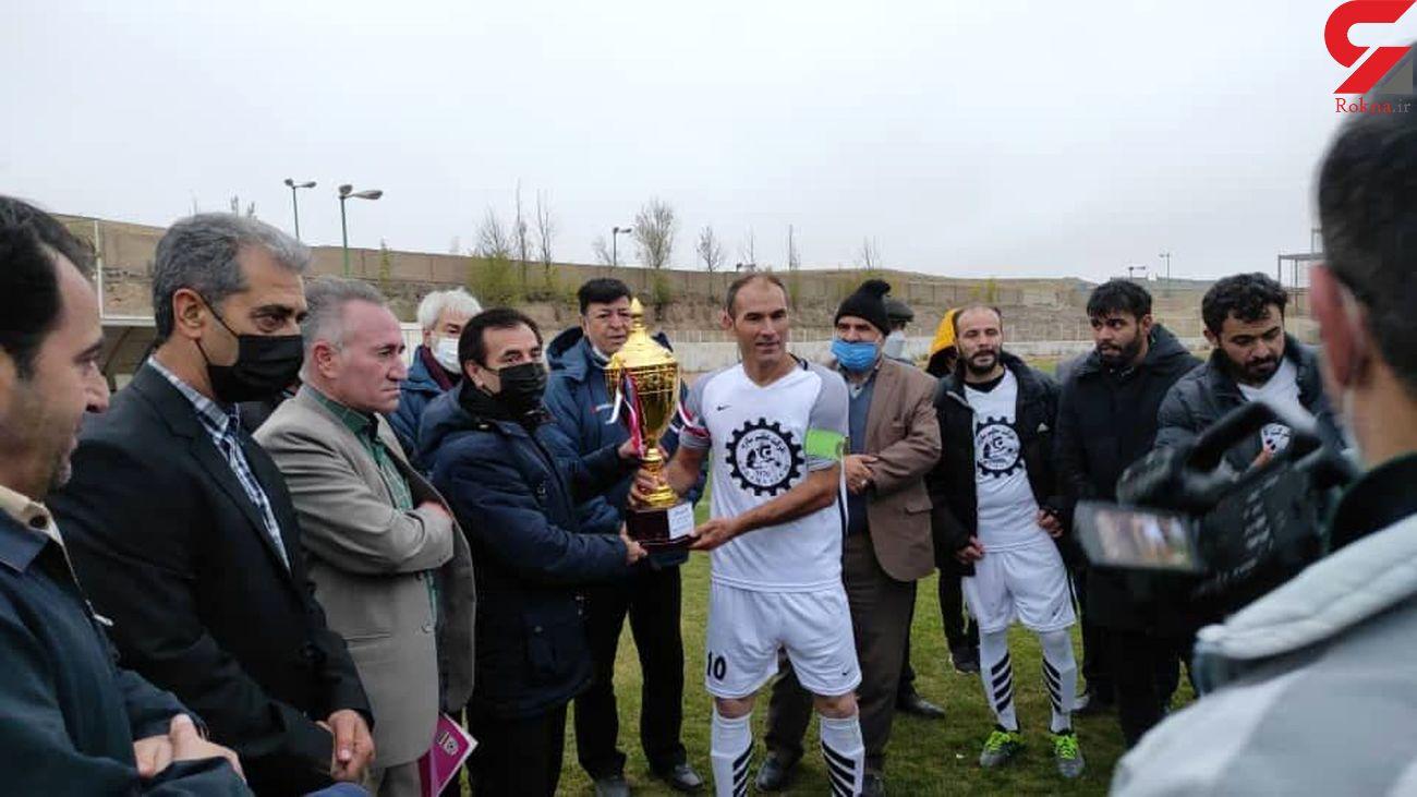 هیئت فوتبال گرمی قهرمان جام حذفی استان اردبیل
