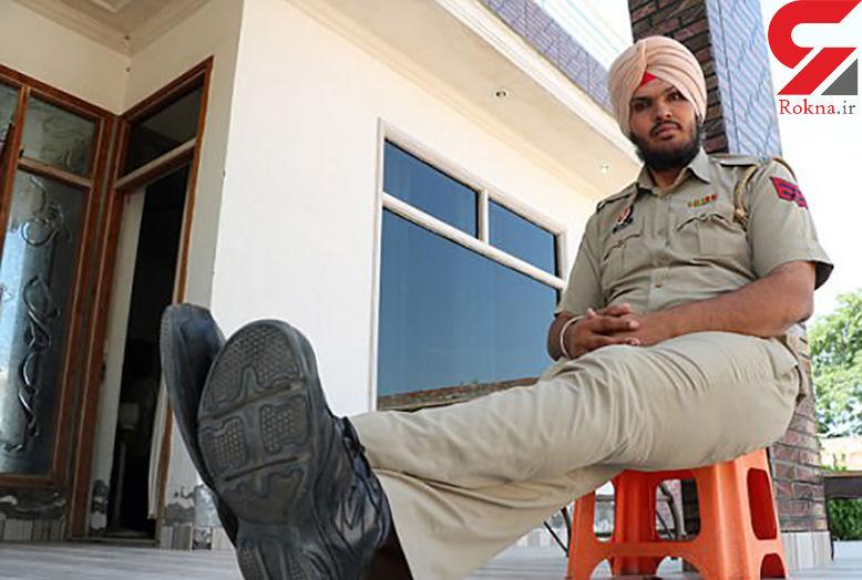 قدبلندترین افسر پلیس جهان کیست؟+ عکس