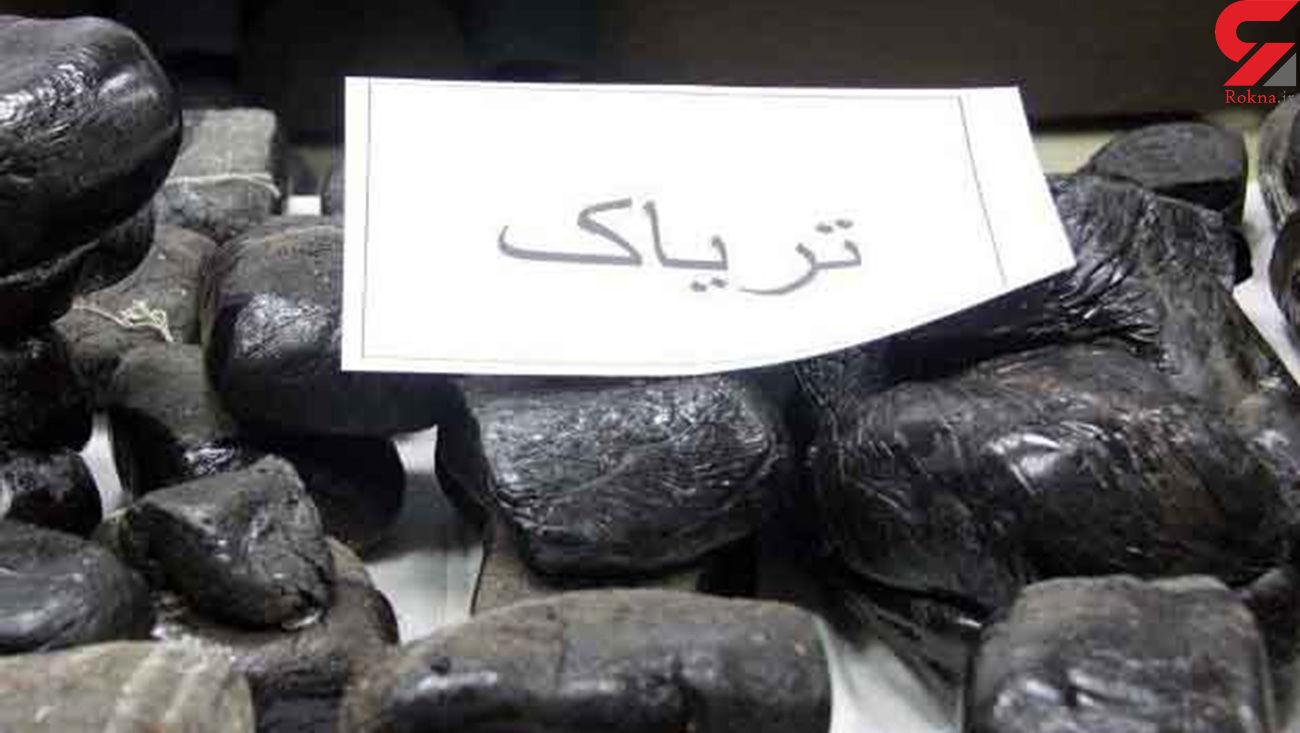 کشف تریاک از اتوبوس مسافربری در قزوین