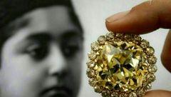 الماس احمد شاه قاجار به قیمت 3 میلیون دلار فروخته شد ! +عکس