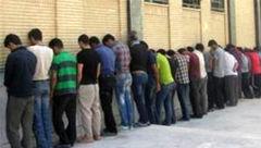 دستگیری 26 خرده فروش افیون در عملیات پلیس خرامه +عکس