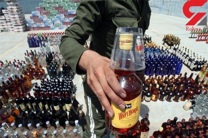 کشف ۴۶ هزار قوطی مشروبات الکلی در هرمزگان